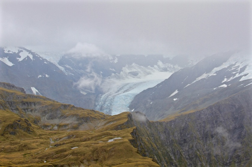 Hiking in New Zealand - The Dart Glacier, Cascade Saddle, Mt Aspiring National Park