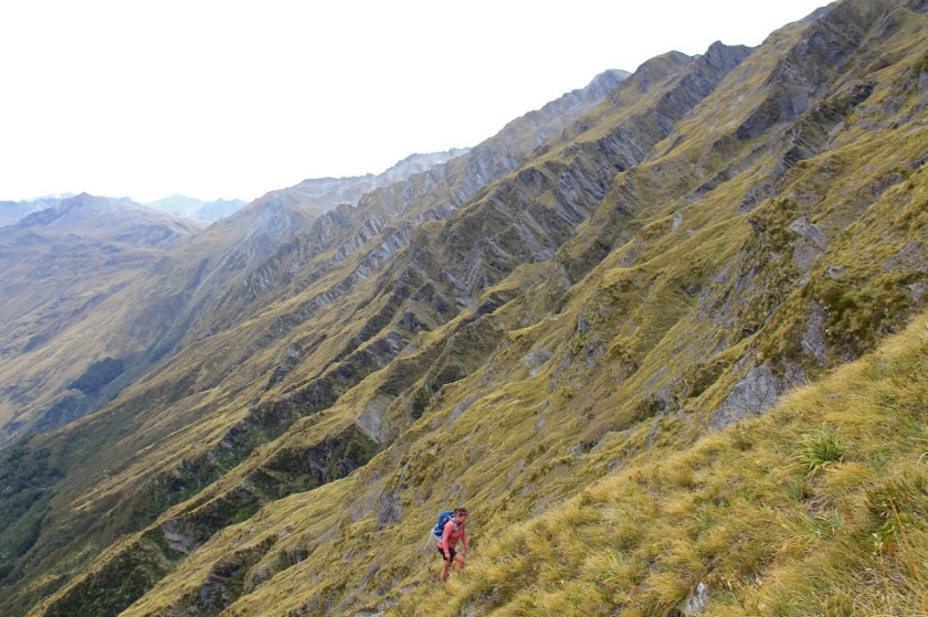 Hiking in Mt Aspiring National Park