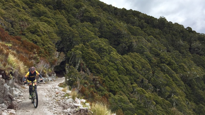 mountain biking old ghost road