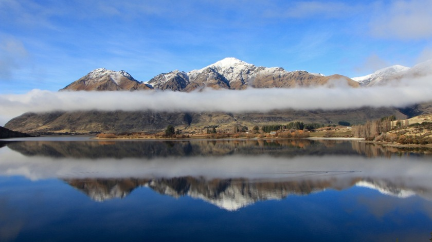 Glendhu Bay Lake Wanaka Mountain Reflections