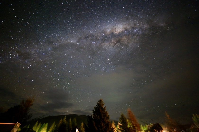 The Milky Way, Castle Hill, Canterbury, New Zealand