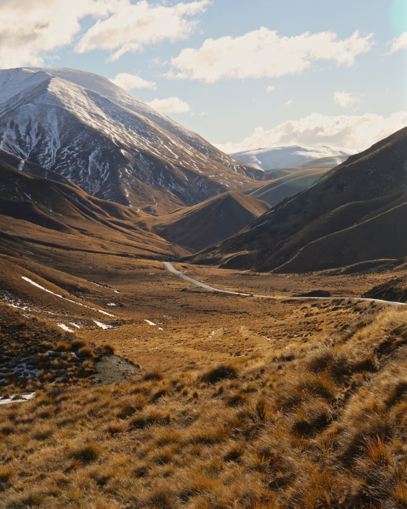 The Lindis Pass, Mackenzie Country, Canterbury, New Zealand