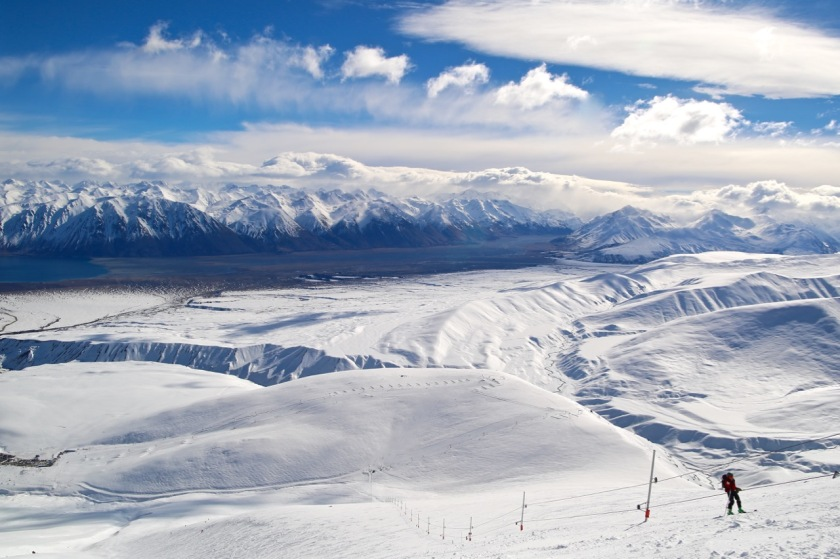 Nutcracker Rope Tow, Roundhill Ski Area, Canterbury, New Zealand