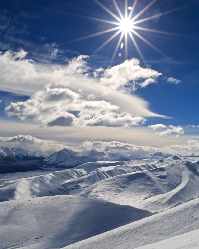 Roundhill Ski Area, Canterbury, New Zealand