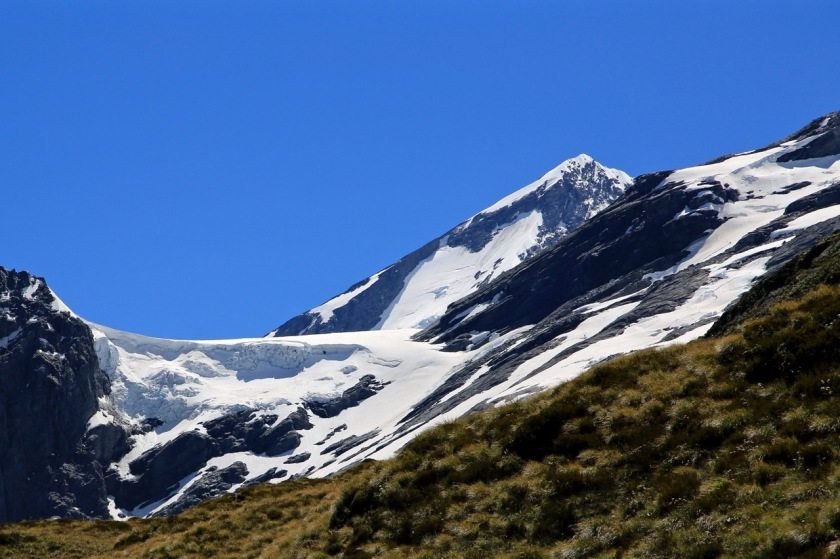 Mount Aspiring and the Breakaway (Bonar Glacier)