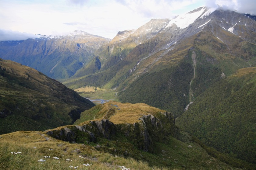 French Ridge and the West Matukituki Valley Mt Aspiring National Park NZ