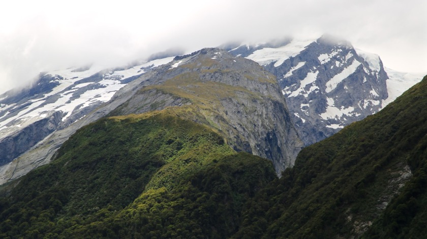 French Ridge Mount Aspiring National Park NZ