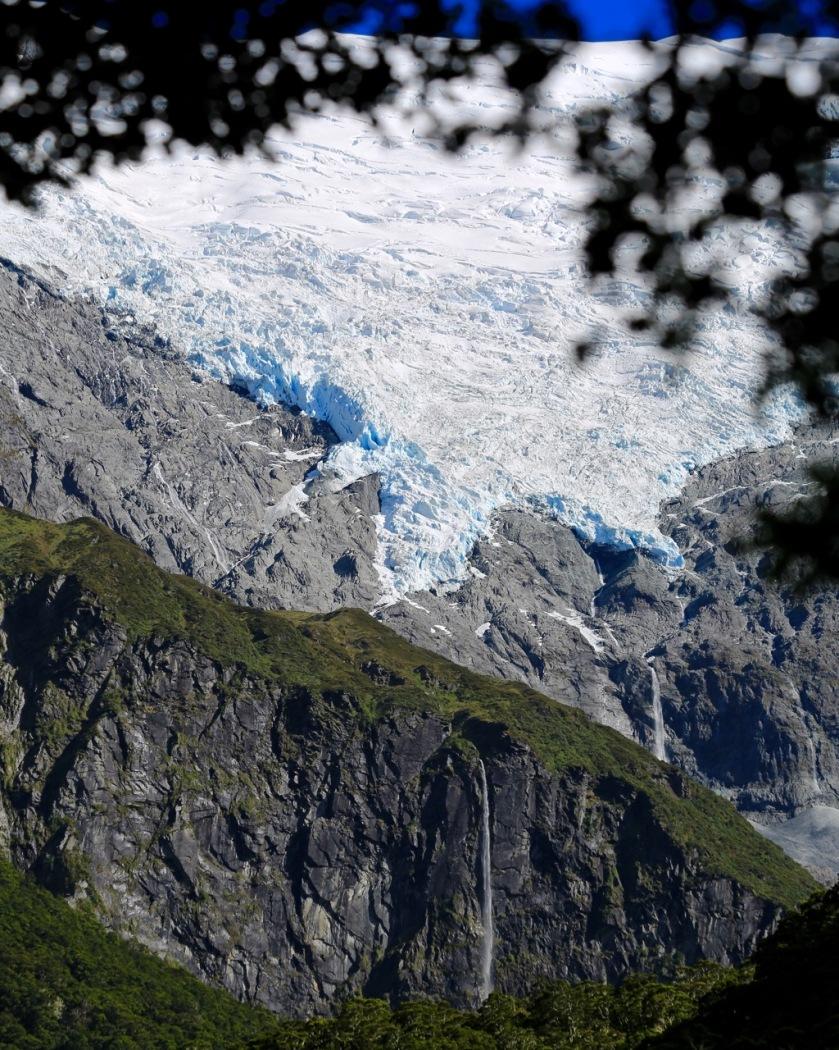 View of Rob Roy Glacier, Wanaka, Mt Aspiring National Park, New Zealand
