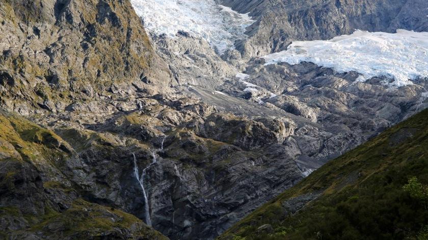 Glacial landscapes - Rob Roy Glacier, Wanaka, Mt Aspiring National Park, New Zealand