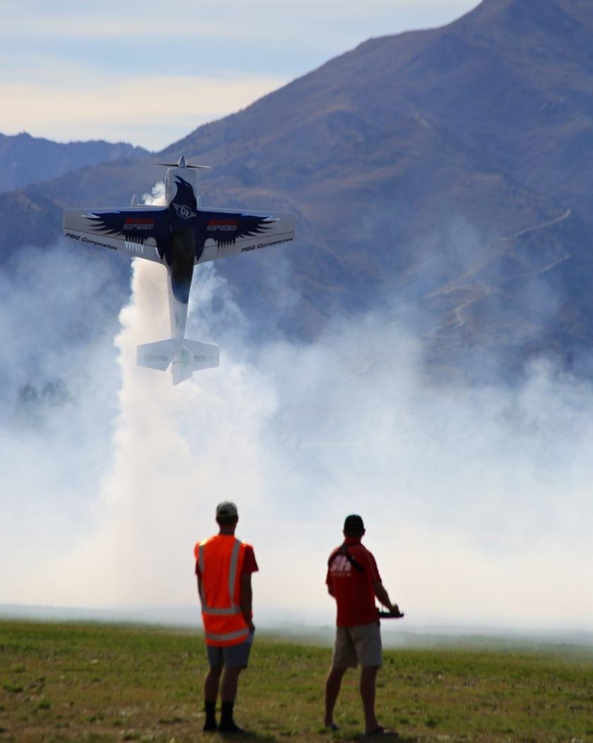 Model aircraft at Warbirds Over Wanaka Air Show