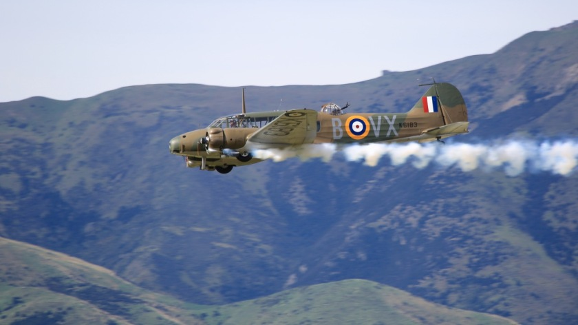 Avro Anson at Warbirds Over Wanaka Air Show