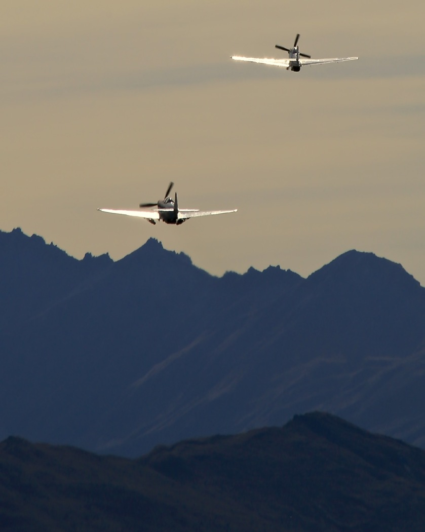WWII fighter planes at Warbirds Over Wanaka Air Show