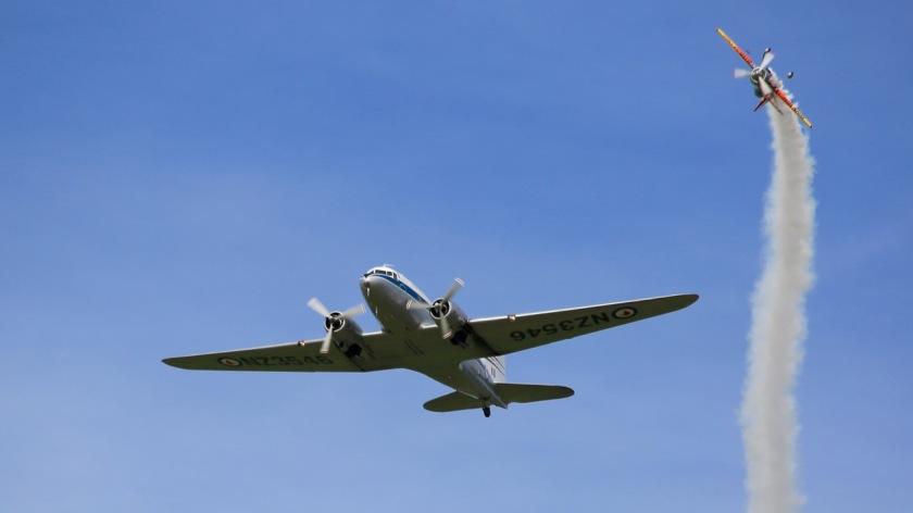 C-47 Dakota at Warbirds Over Wanaka Air Show