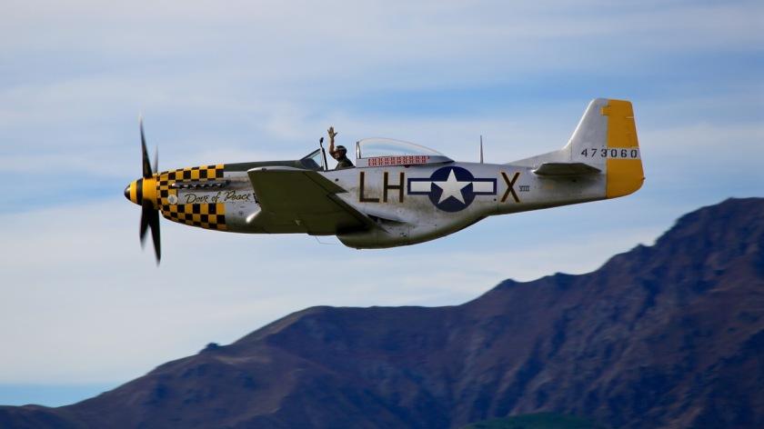 P-51 Mustang at Warbirds Over Wanaka Air Show