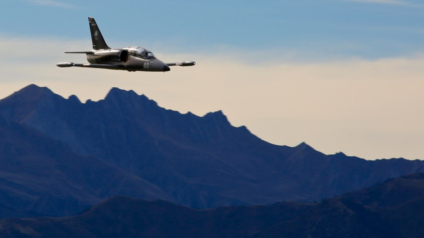 L-39 Albatros jet at Warbirds Over Wanaka Air Show