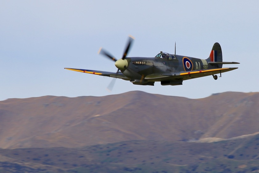 The Mk XI Supermarine Spitfire at Warbirds Over Wanaka Air Show