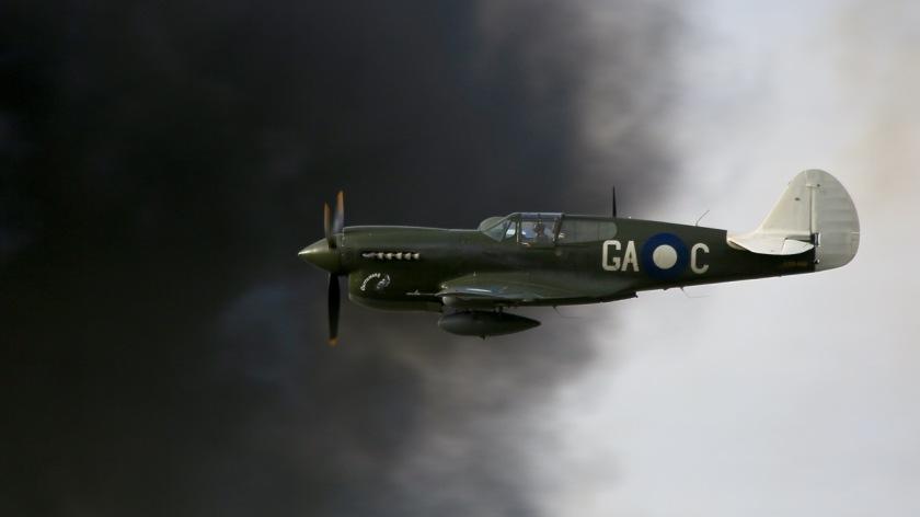 Curtiss P-40 Kittyhawk at Warbirds Over Wanaka Air Show