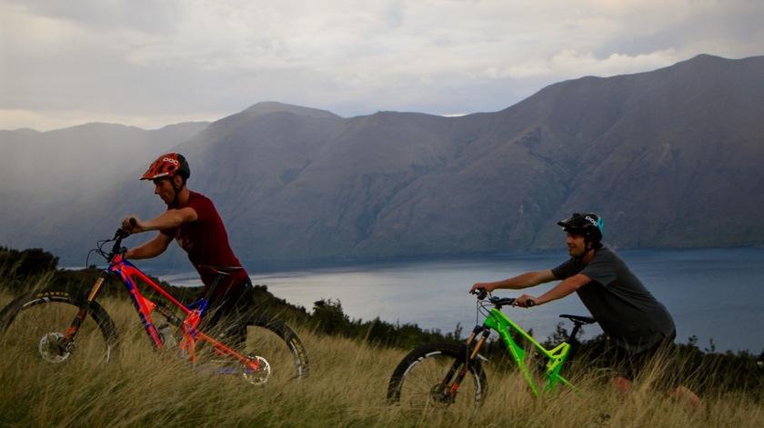 Mountain biking, Wanaka NZ