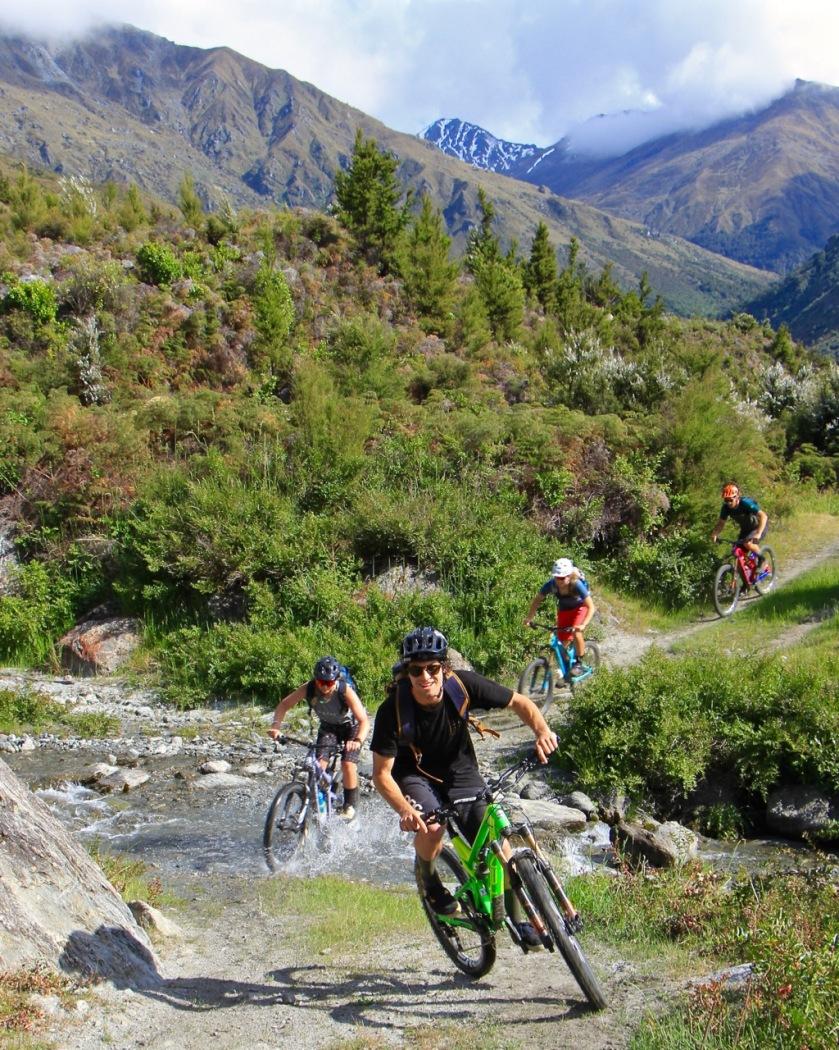 Mountain biking in Wanaka NZ
