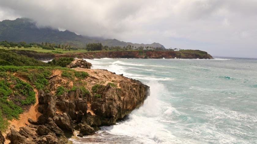 South Kauai coastline, Hawaii