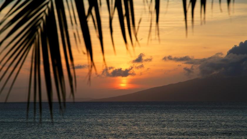 Hawaiian sunset, Maui