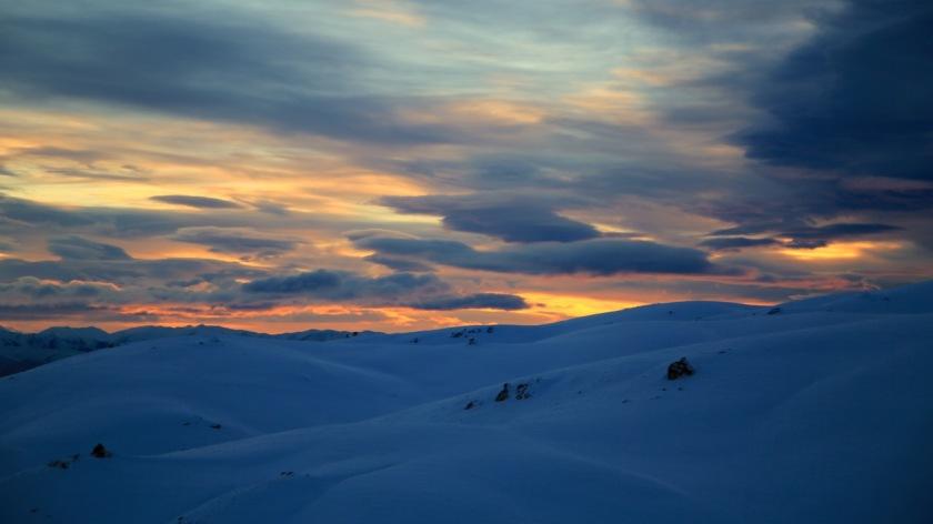 Sunrise at Snow Farm, Wanaka NZ