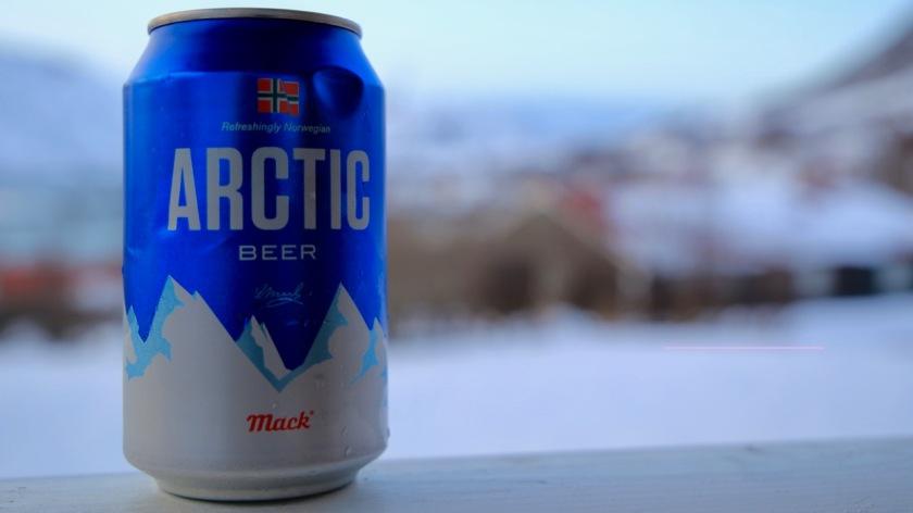 Arctic beer in Northern Norway