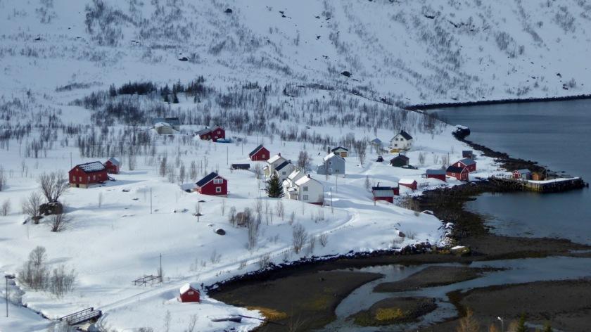 Langfjordhamn in Northern Norway